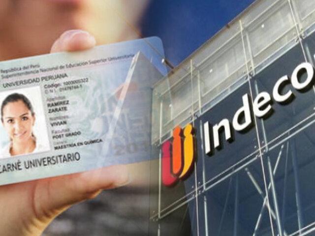 Indecopi sanciona a 8 empresas de transporte por no cobrar medio pasaje a universitarios