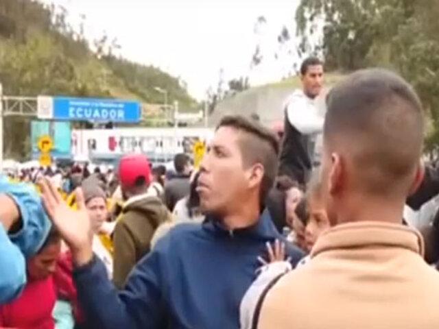 Así informó Ecuador sobre la crisis migratoria de venezolanos a nuestro país