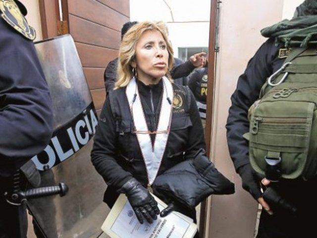 Fiscal Sandra Castro advierte que pueden haber detenciones para algunos congresistas disueltos