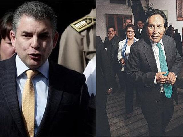 Fiscal Vela se muestra satisfecho con decisión de Juez, sobre caso Alejandro Toledo