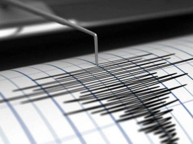 Sismo de magnitud 4.3 se registró esta madrugada en Huánuco