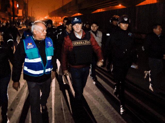 Megaoperativo en La Victoria: más de 1200 policías tomaron la Av. Aviación