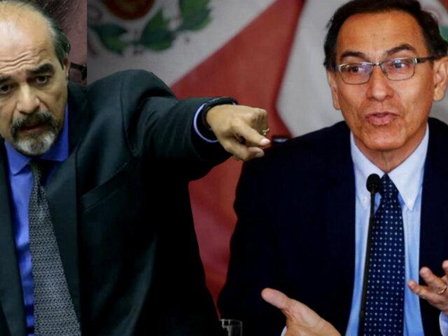 """Mauricio Mulder: Martín Vizcarra """"se quiere hacer el matoncito de barrio"""""""