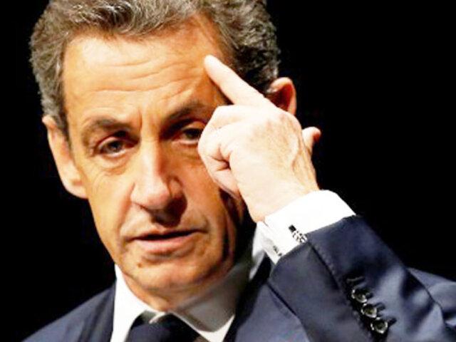 Francia: expresidente Nicolas Sarkozy fue condenado a tres años de prisión