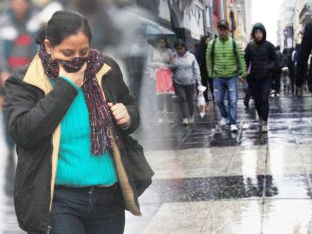 Intenso frío en Lima: temperatura bajó hasta los 10 grados