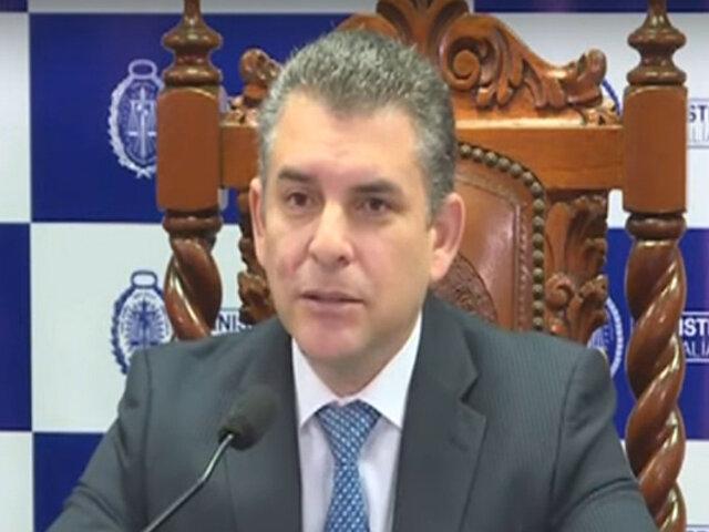 César Gutiérrez: Indispensable aclaración del fiscal Vela sobre Gasoducto Sur