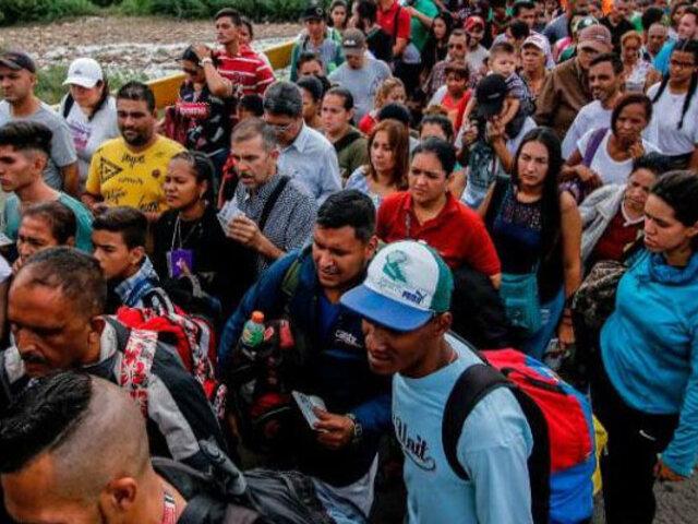 Cajamarca: pobladores empadronarán por su cuenta a venezolanos