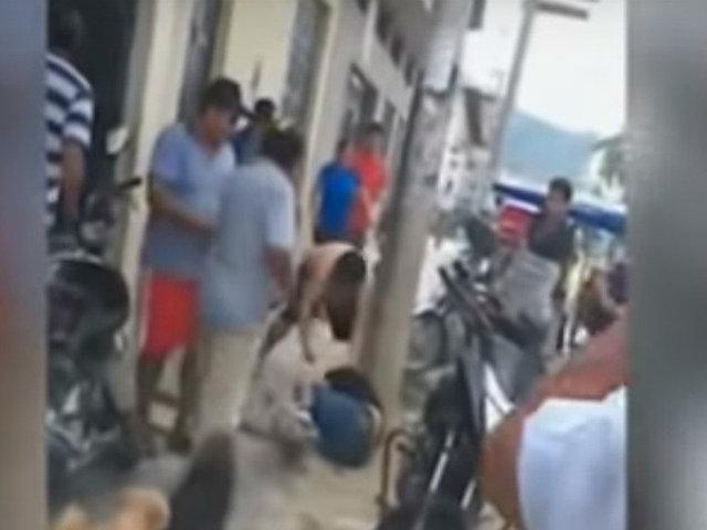 Jaén: delincuente que asaltó a madre con bebé en brazos fue masacrado