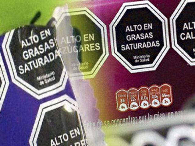 Minsa: Octógonos debe estar en todos los productos con grasas trans