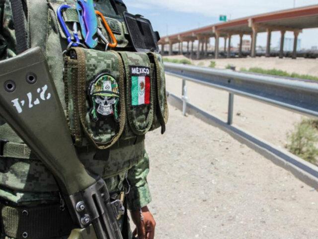 México envía militares y policías a frontera con EEUU para frenar a migrantes
