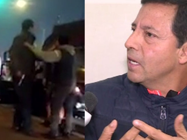 """Policía retirado: """"le mostré mi arma al motociclista porque creí que nos iba a asaltar"""""""