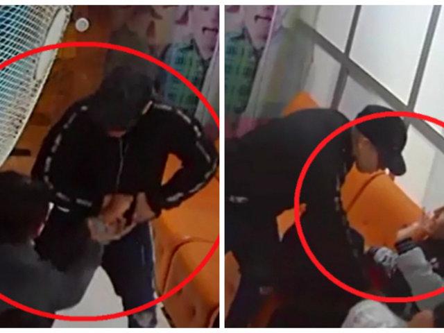 VMT: asaltan a pacientes que esperaban ser atendidos en consultorio dental