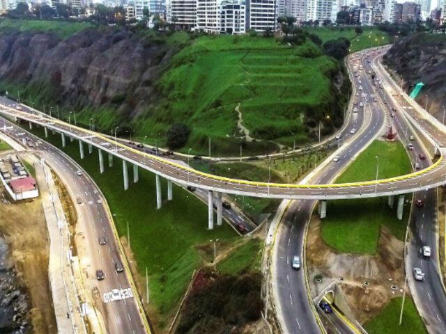 Viaducto Armendáriz: Muñoz inaugura la vía que conectará Miraflores y Barranco