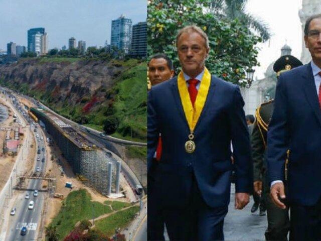 Vizcarra: Obras de los Juegos Panamericanos 2019 quedarán para la colectividad