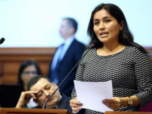 Marita Herrera: fiscal pide investigar a congresista por presunto tráfico de influencias