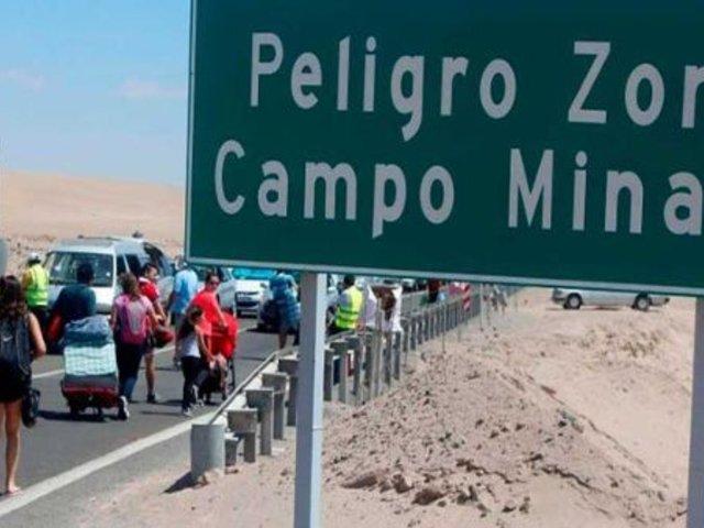 Intervienen a venezolanos que intentaban ingresar a Chile por campos minados