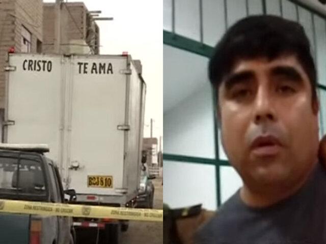 Callao: capturan a dos sospechosos por el asesinato del copiloto de furgoneta