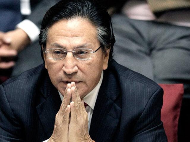 Toledo permanecerá en prisión en lo que dura proceso de extradición