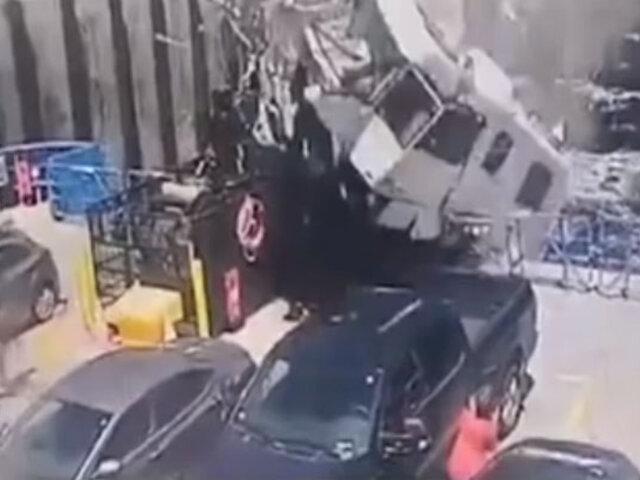 Canadá: conductor de casa rodante fallece tras impactar contra un ferry
