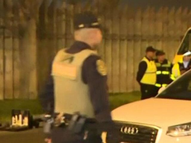 Intensa búsqueda de secuestradores de joven en La Molina