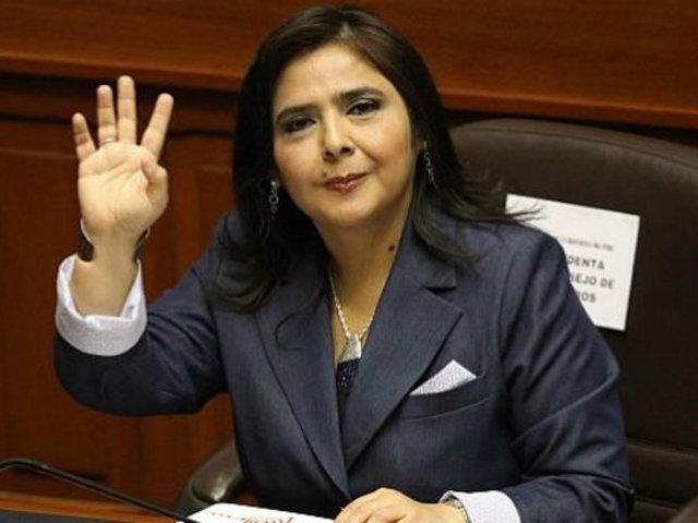 Ex primera ministra, Ana Jara, renunció al Partido Nacionalista