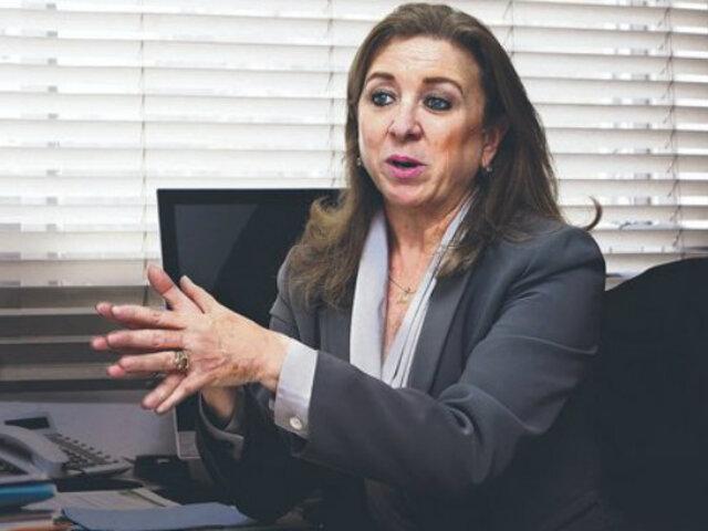 """Presidenta de la Confiep responde a Vizcarra: """"rechazamos enérgicamente insinuaciones"""""""