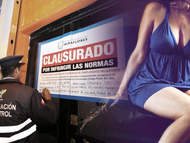 Cierran spa que ofrecía servicios sexuales en Miraflores