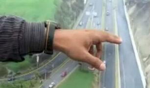Anuncian implementación de accesos peatonales cerca a Viaducto Armendáriz