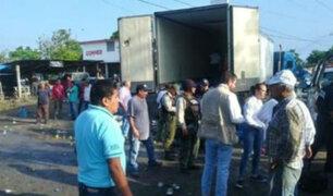 México: rescatan a 200 inmigrantes abandonados en contenedor
