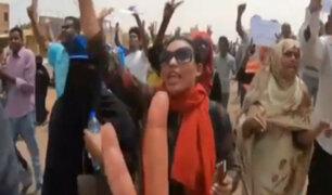 Sudán: un muerto y ocho heridos en protestas contra gobierno militar
