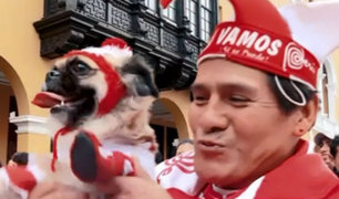 Hinchas celebraron en el Perú y el mundo triunfo ante Uruguay