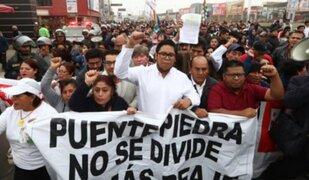 Alcalde de Puente Piedra buscará suspensión de peajes con proyecto de Ley
