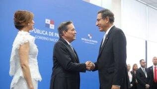 Martín Vizcarra participa en la asunción del presidente de Panamá