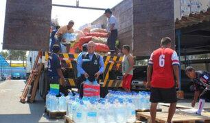 Huánuco: Gobierno entregó más de dos toneladas en ayuda humanitaria por deslizamiento