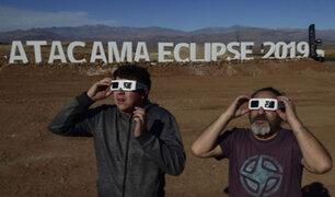 Chile: medio millón de personas viajaron a Atacama para ver el eclipse