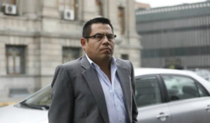 Caso Villarán: ordenan comparecencia con restricciones para Gabriel Prado