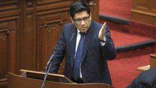 Ministro de Justicia informó que un representante de Fiscalía estaría presente en la audiencia de Toledo