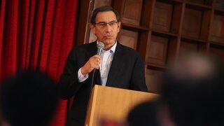 Vizcarra: Regiones respaldan proyecto sobre medicamentos genéricos