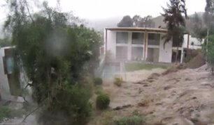 La Molina: canal de regadío rompe pared de casa y la inunda