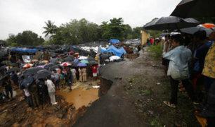India: lluvias monzónicas dejan al menos 30 fallecidos