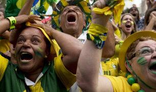 Miraflores: así celebró la hinchada de Brasil su clasificación a la final de la Copa América