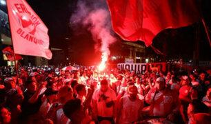 Perú vs. Chile: hinchas realizaron banderazo a selección peruana