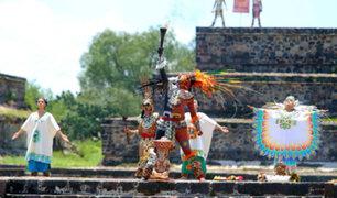 México: ceremonia prehispánica dio inicio a Juegos Panamericanos que se llevarán a cabo en Lima