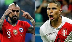 Perú entrena en secreto a pocas horas de decisivo partido con Chile