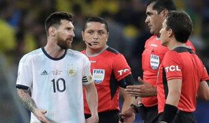 Copa América: Messi arremete contra arbitraje y Brasil