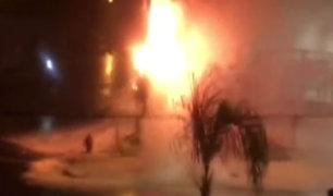 Pueblo Libre: panel de grifo ardió y ocasionó emergencia