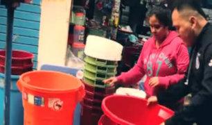 Limeños se alistan para corte de agua este viernes 5