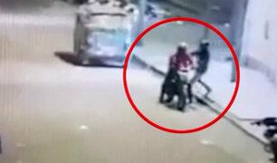 SJL: delincuente muere abatido por policía tras robar botica
