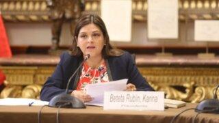 Congresista Beteta cuestiona autenticidad de chats filtrados pero asegura que solo se defendía
