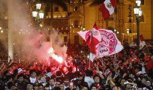 ¡Perú a la final! así celebraron en Lima los goles de la bicolor